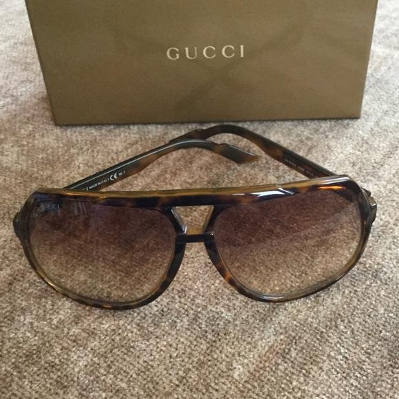 5dde675c0f6 Gucci Accessories - Brown Gucci Sunglasses
